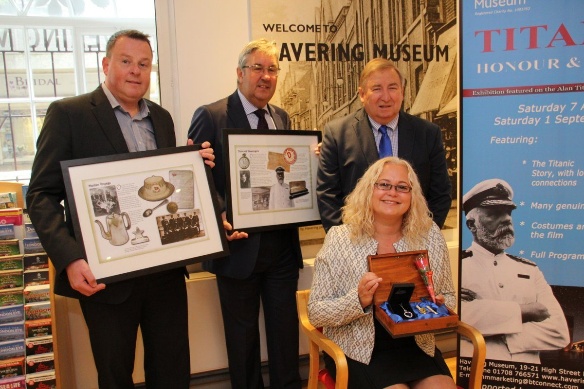 HCCI Sponsoring Havering Museum Titanic Exhibition